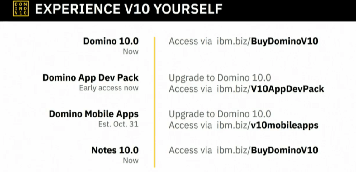 Notes Domino 10 Download And App Dev And Mobile Apps Blog
